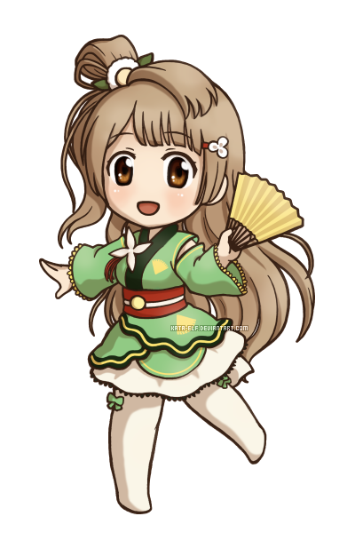 Minami Kotori by Kata-elf