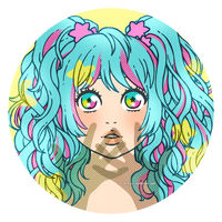 Miku splash by Kata-elf