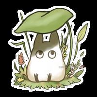 Tiniest totoro by Kata-elf