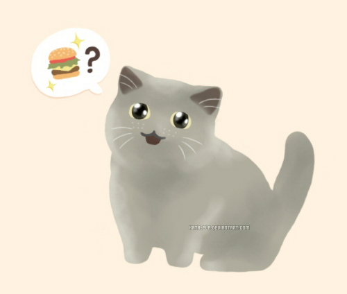 I can has cheezburger? by Kata-elf