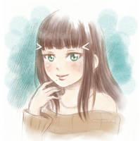 Dia sketch by Kata-elf