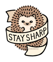 STAY SHARP by Kata-elf