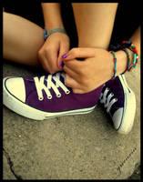 purple memory by greenxin