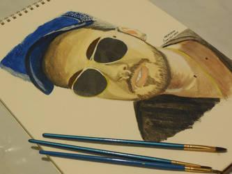 Bill Kaulitz Acrylic Paint