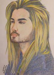 Bill Kaulitz Color Pencils