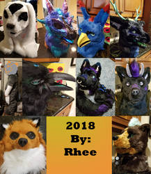 all the heads of 2018 by Urboros