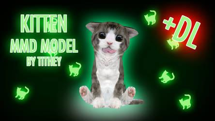 Kitten  - Yandere Simulator [MMD] + NoteDL