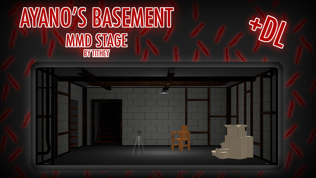 Ayano S Basment Stage Yansim Mmd Dl By Tithey On