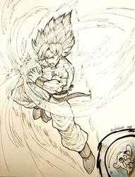 Day 28 - Dragon Ball Z by Afroblue72
