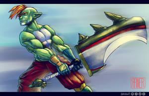 Elf Sword by Afroblue72