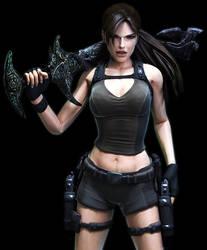 Lara Croft - Underworld Excalibur by SimplyShawn