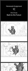 Storyboards - Movie Study - Back to the Future by LouHolsten