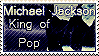 Michael Jackson Stamp 1 by BLGraphics614