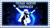 Michael Jackson Stamp 2 by NewspaperGeek