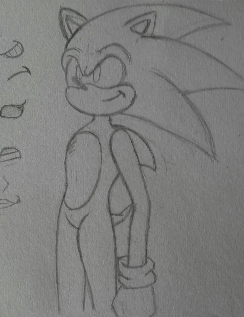 Sonic the hedgehog by XxGamerGirlxXD