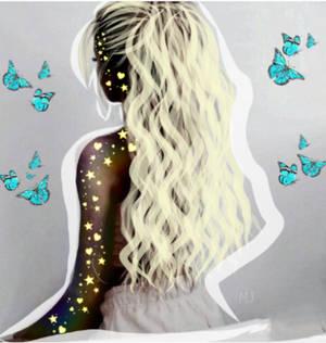 Hair and butterflies