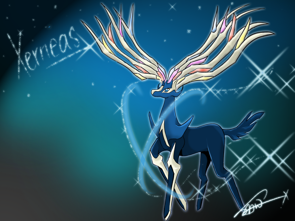 The gallery for --> Xerneas Wallpaper