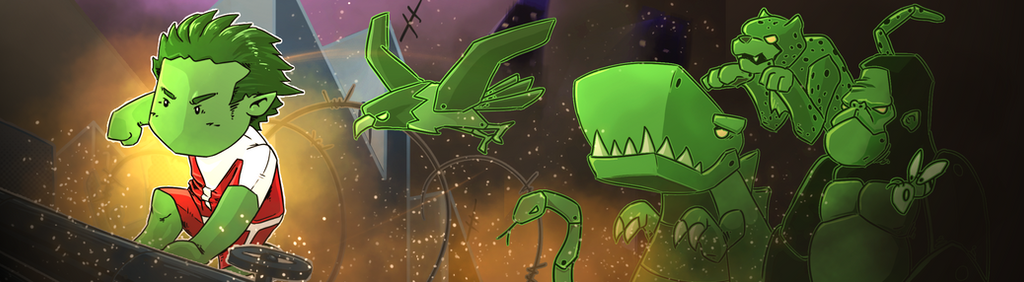 Beast Boy [Scribblenauts Contest Entry] by ShawnnL