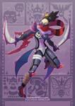 MH X POKEMON - Fuchsia Armour