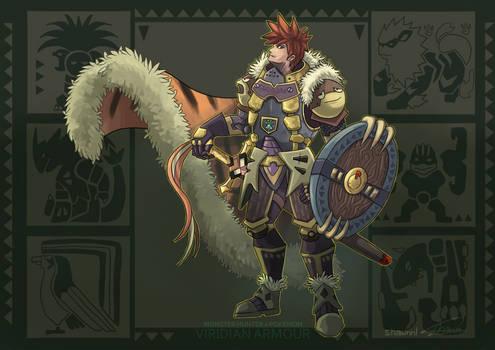 MH X POKEMON - Viridian Armour