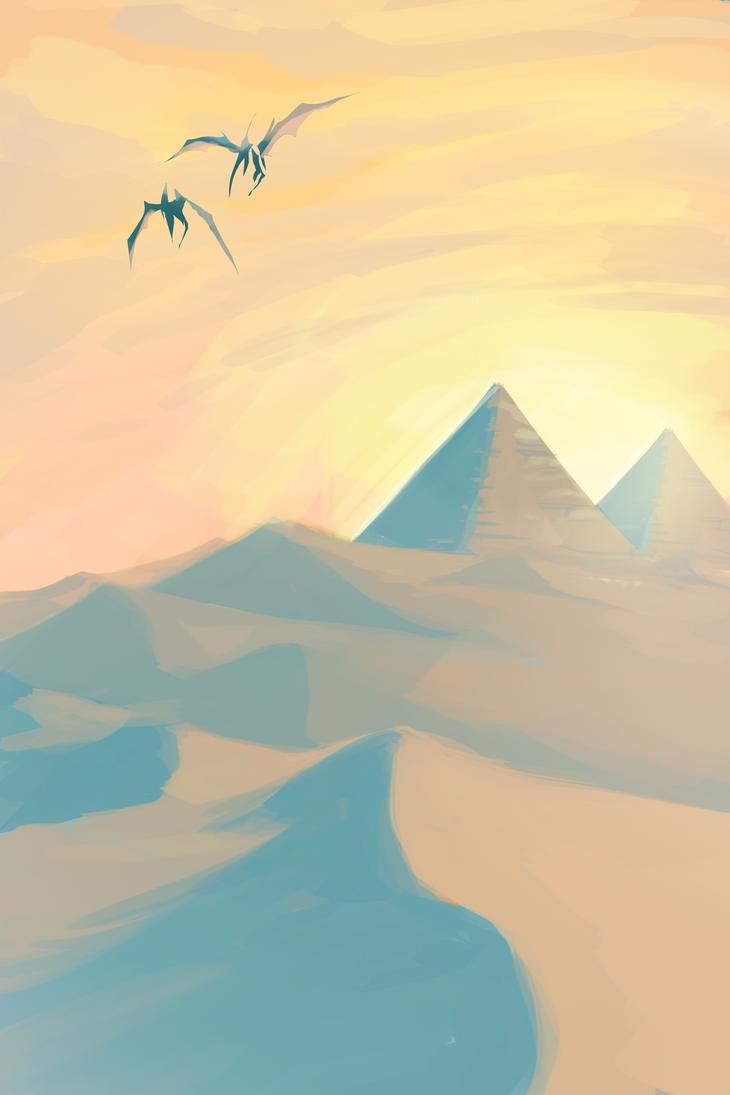 Dinosaur Desert by ShawnnL