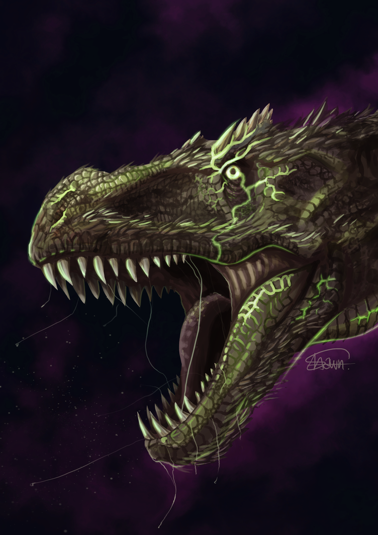 Toxic Rex by ShawnnL