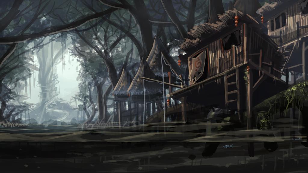 Mangrove Village by ShawnnL