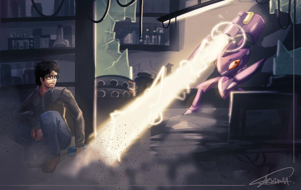 Genesect Attack by ShawnnL