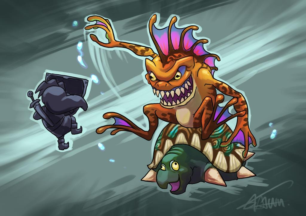 Gekko and Snapper by ShawnnL