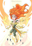 Phoenix the Sorceress by ShawnnL