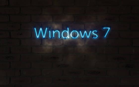 Windows 7 neon glow