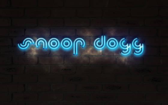 Snoop Dogg Neon Glow