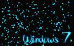 Windows 7 blue leafs