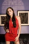 Sasha Grey in Red