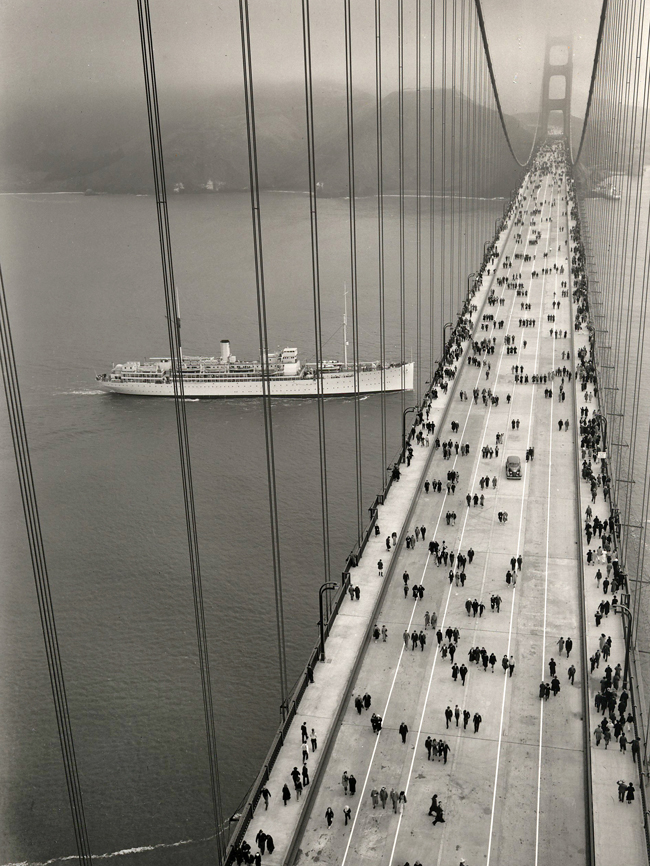 Golden Gate bridge 1937
