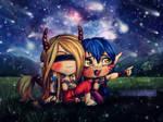 M.E.4- Thousand Stars by LilithGiroyami