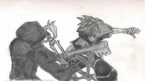 Sora vs Roxas