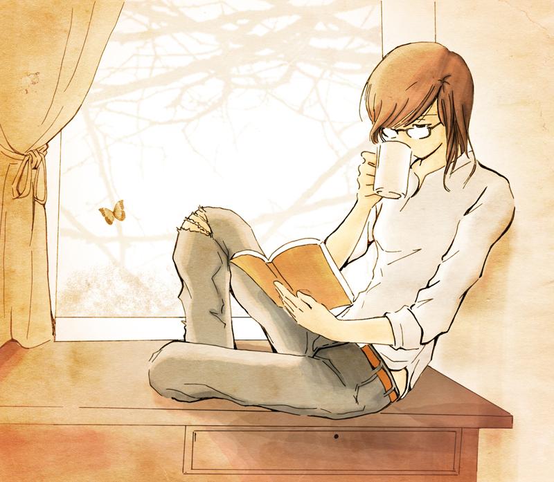 reading by ravenngo