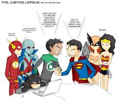 justice league by ravenngo