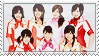 Berryz Koubou Stamp MADAYADE by BeforeIDecay1996