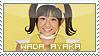 Wada Ayaka Stamp by BeforeIDecay1996