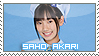 Saho Akari Stamp by BeforeIDecay1996