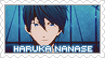 Request: Free! - Haruka Nanase Stamp by BeforeIDecay1996