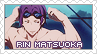 Request: Free! - Rin Matsuoka Stamp by BeforeIDecay1996