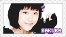 Oda Sakura Stamp by BeforeIDecay1996