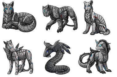 Cyber Creatures by TheSharinganMaster