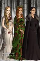 Three Spirits of Christmas, A Christmas Carol by Kailie2122