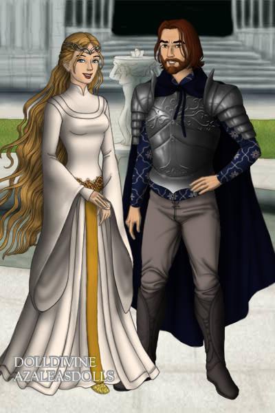 Eowyn and Faramir by Kailie2122