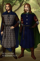 Faramir and Boromir by Kailie2122