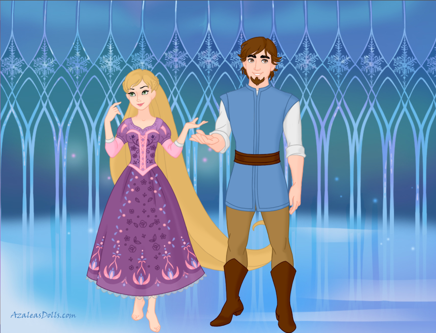 Flynn Rider And Rapunzel Fan Art Rapunzel And Flynn Rid...